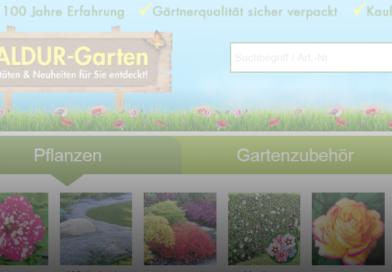 Baldur Garten Pflanzenversand